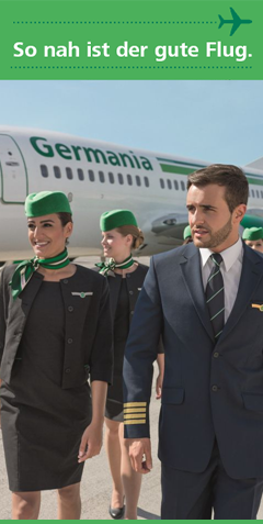 Germania Airline Flug buchen